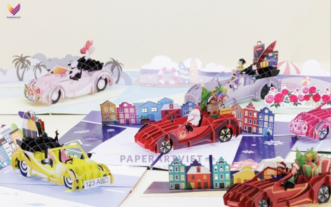 Where to find the best 3D pop up card manufacturer in Vietnam